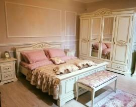 dormitor crem maria ivory