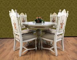 masa cu scaun regal crem