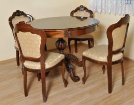 scaun regal 2 masa rotunda regal